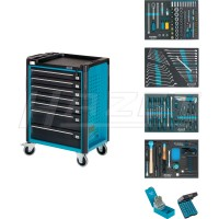 "Tool trolley <font face=""HZSymboleLogosA1"">i</font> with assortment"