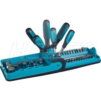 "Socket and bit set ""Smart Case"""