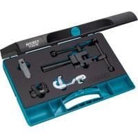 Tube flaring tool set