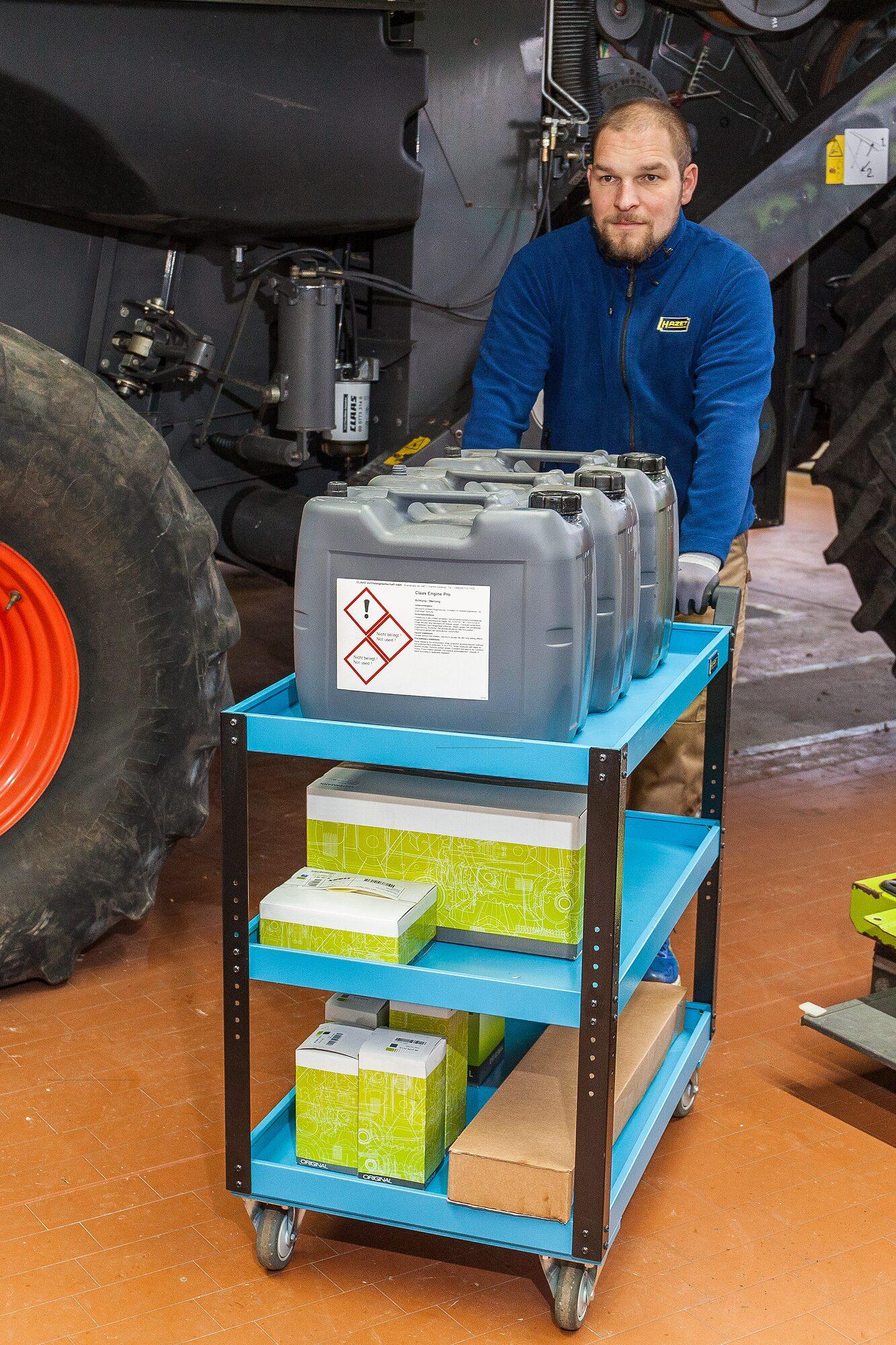 HAZET Servicewagen Assistent 167-3