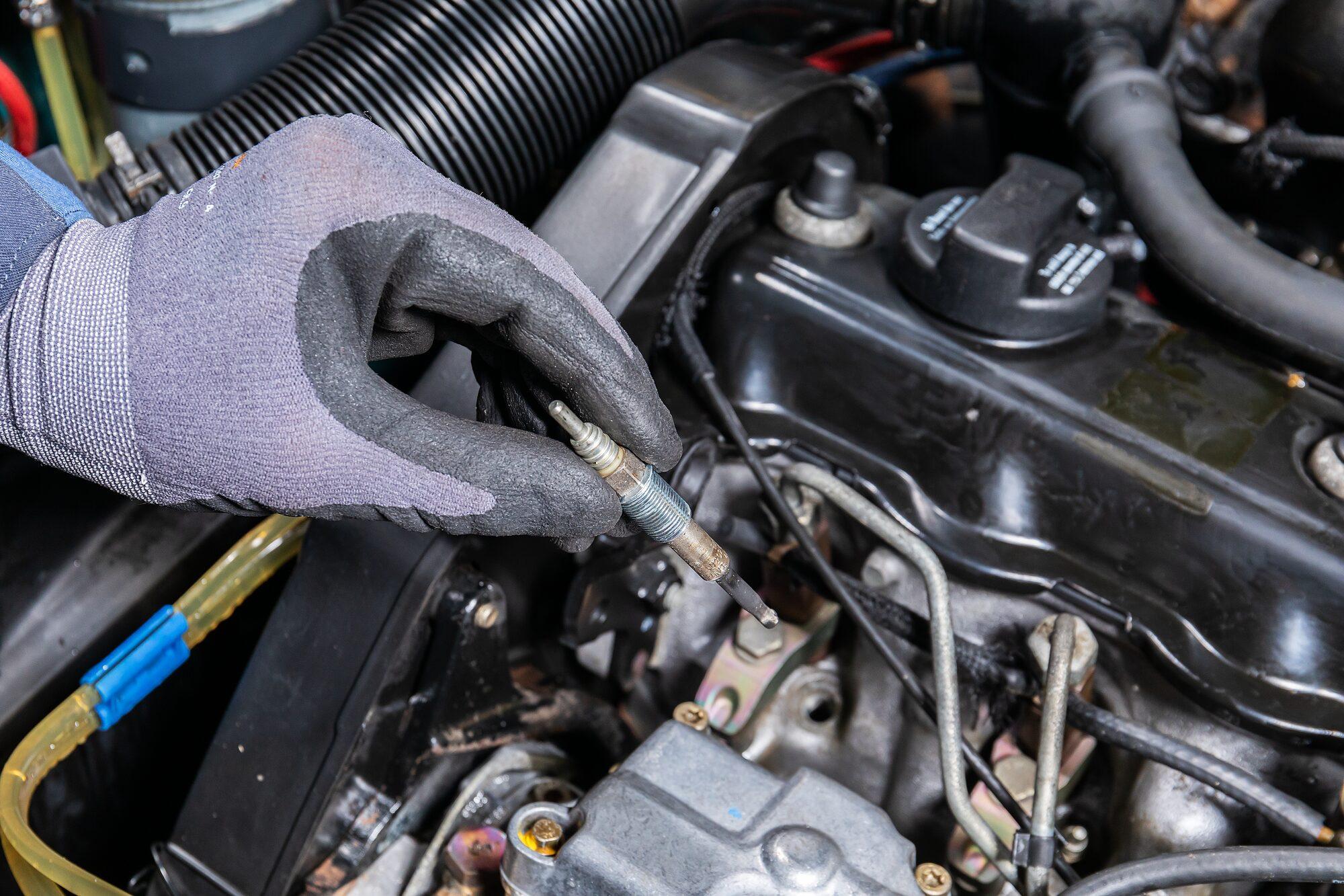 HAZET Glühkerzen Reparatur Satz 4760-M9X1/9 ∙ Anzahl Werkzeuge: 9