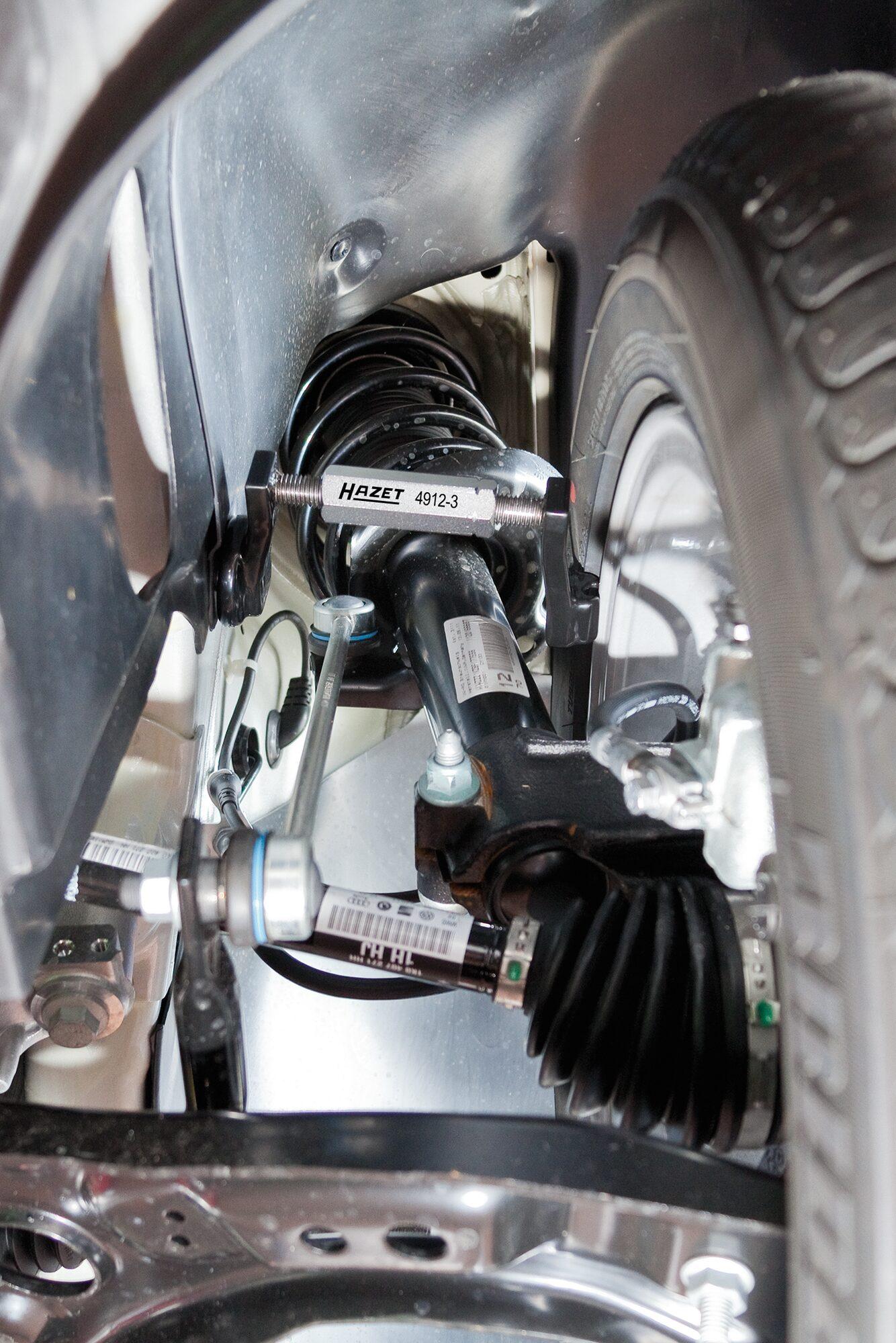 HAZET Sturz Einstell Werkzeug Satz 4912-3/2 ∙ Anzahl Werkzeuge: 2