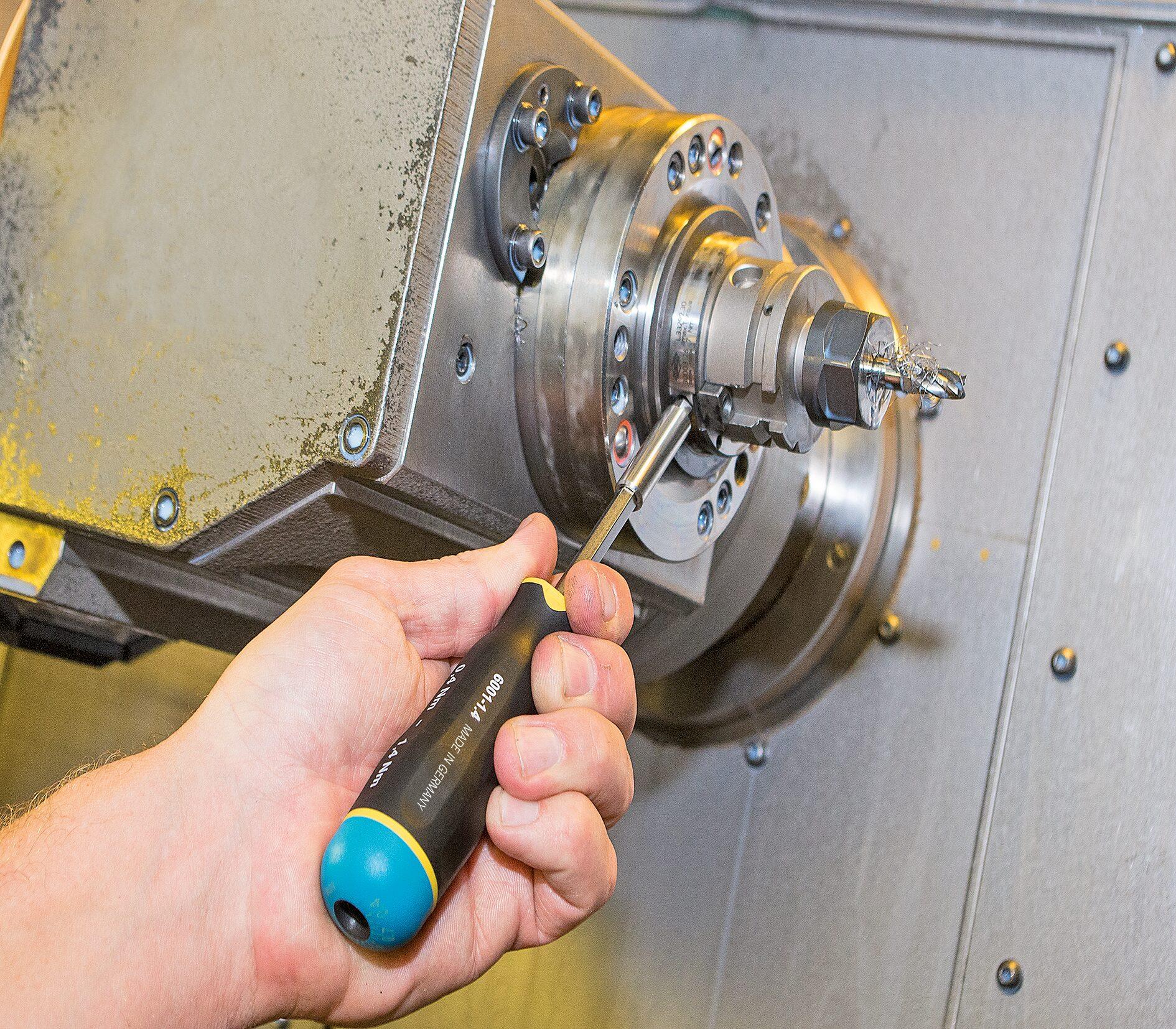 HAZET Drehmoment-Schraubendreher 6001-1.5/3 ∙ Nm min-max: 0.6–1.5 Nm ∙ Toleranz: 10% ∙ Anzahl Werkzeuge: 3