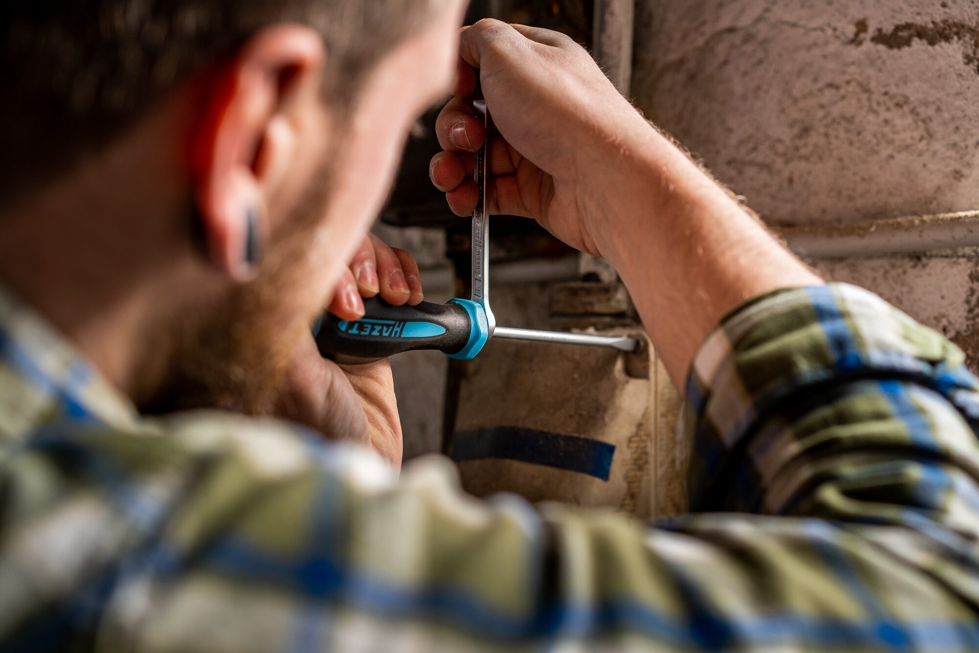 HAZET Schraubendreher HEXAnamic® 802-T25H ∙ Tamper Resistant TORX® Profil ∙ T25H