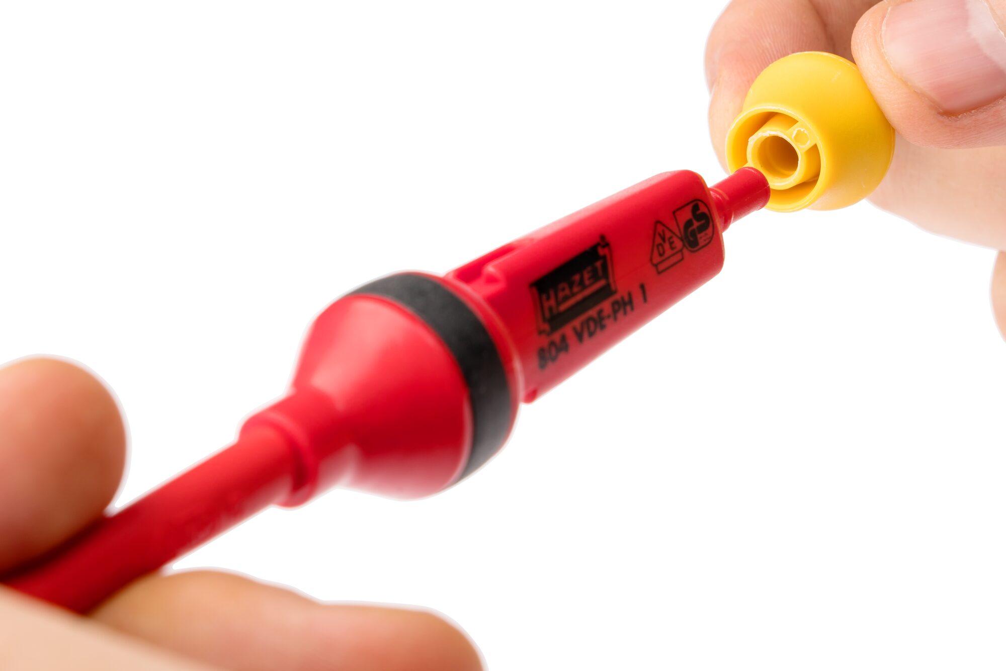 HAZET Schraubendreher Satz ∙ schutzisoliert 804VDE/14 ∙ Anzahl Werkzeuge: 14