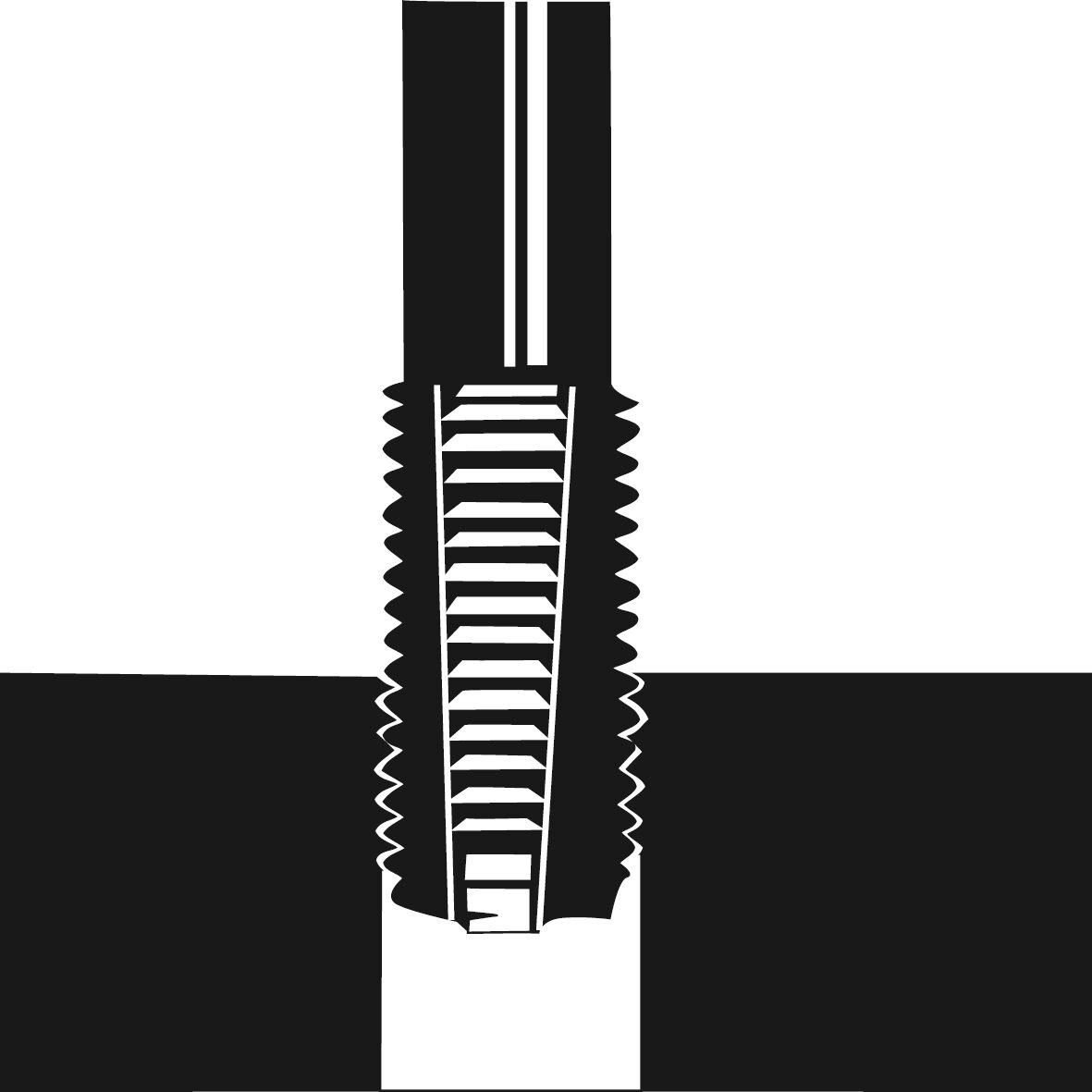 HAZET Gewinde-Reparatur Satz 842N-614/118 ∙ Anzahl Werkzeuge: 118