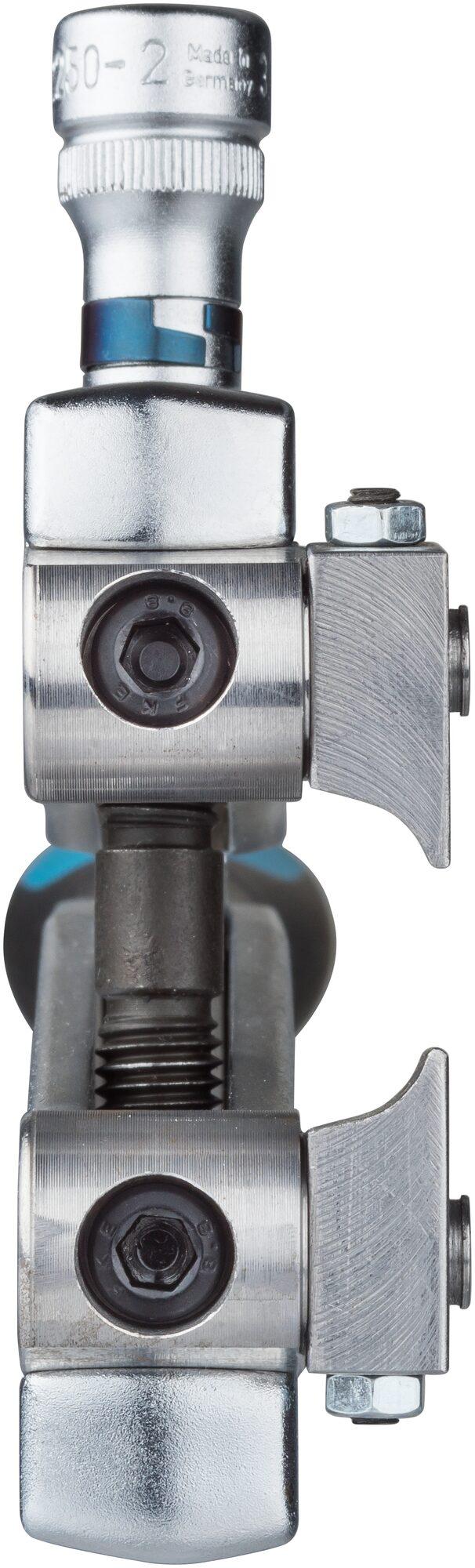 HAZET Achsmanschetten Spann-Zange 1847/3 ∙ Vierkant hohl 10 mm (3/8 Zoll)