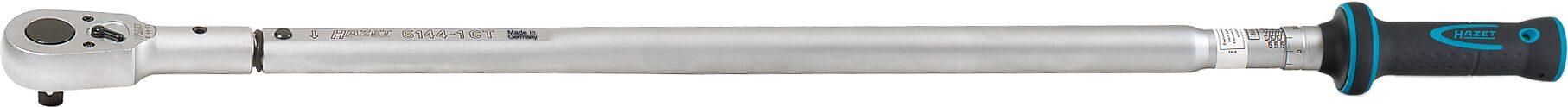 HAZET Drehmoment-Schlüssel 6144-1CTCAL ∙ Nm min-max: 200–500 Nm ∙ Toleranz: 2%