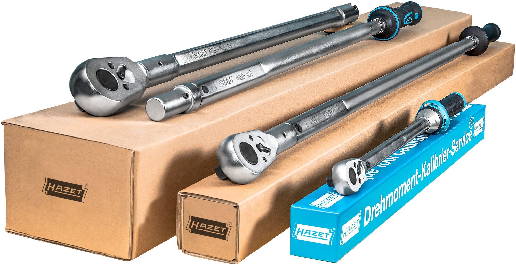 HAZET Drehmoment-Schlüssel Wartungsservice-Box SP-20