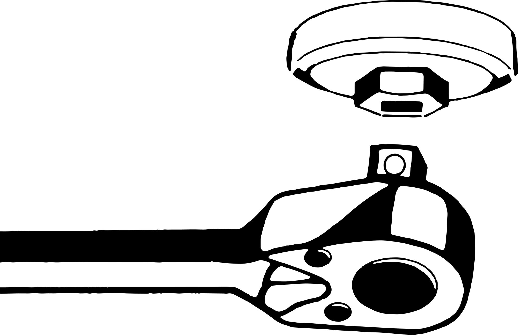 HAZET Ölfilter-Schlüssel 2169-66 ∙ Vierkant hohl 12,5 mm (1/2 Zoll) ∙ Rillenprofil ∙ 76 mm