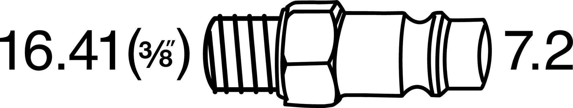HAZET Schlagschrauber ∙ extra kurz 9012MT ∙ Lösemoment maximal: 1400 Nm ∙ Vierkant massiv 12,5 mm (1/2 Zoll)