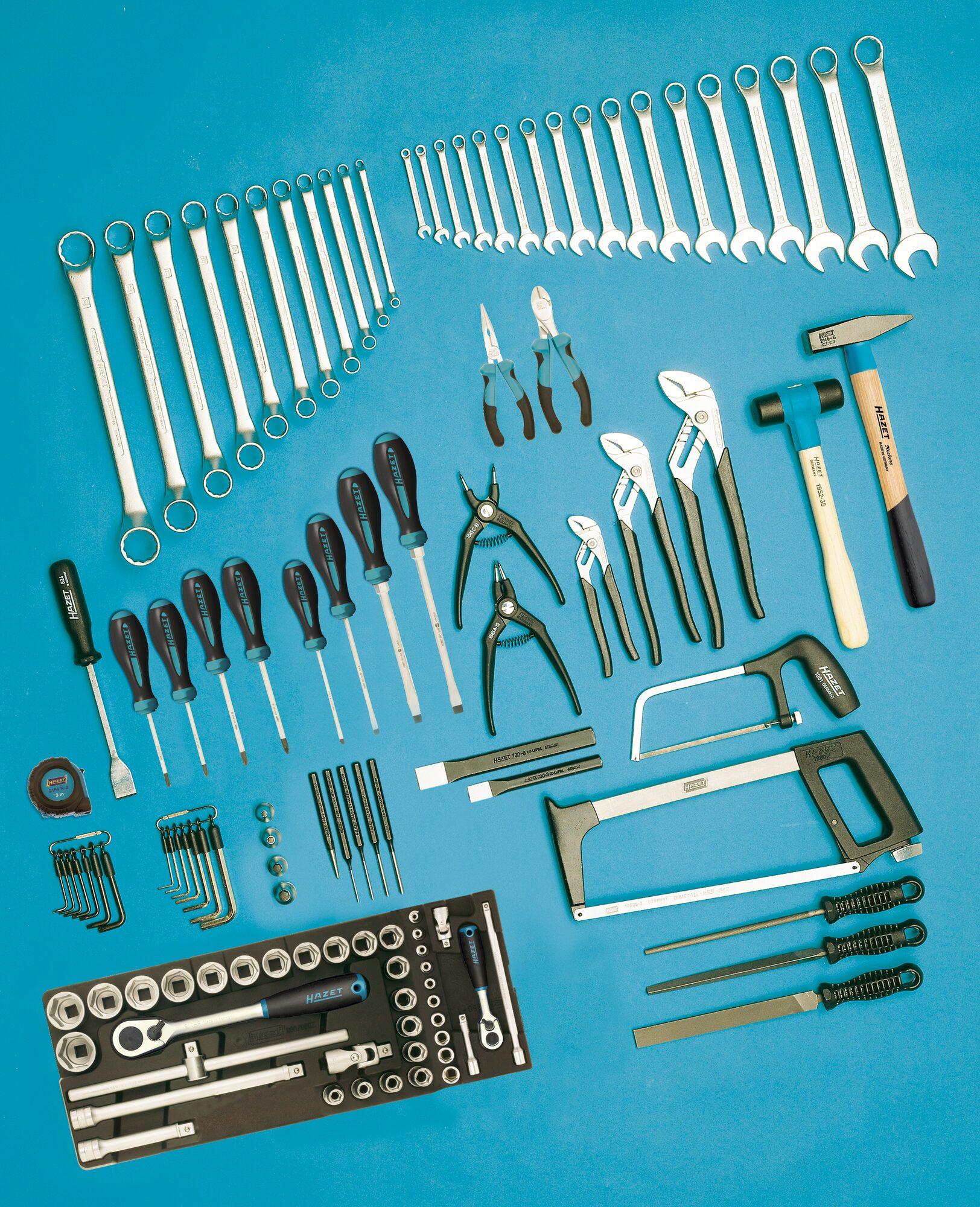 HAZET Werkzeug Sortiment 0-111/116 ∙ Anzahl Werkzeuge: 116