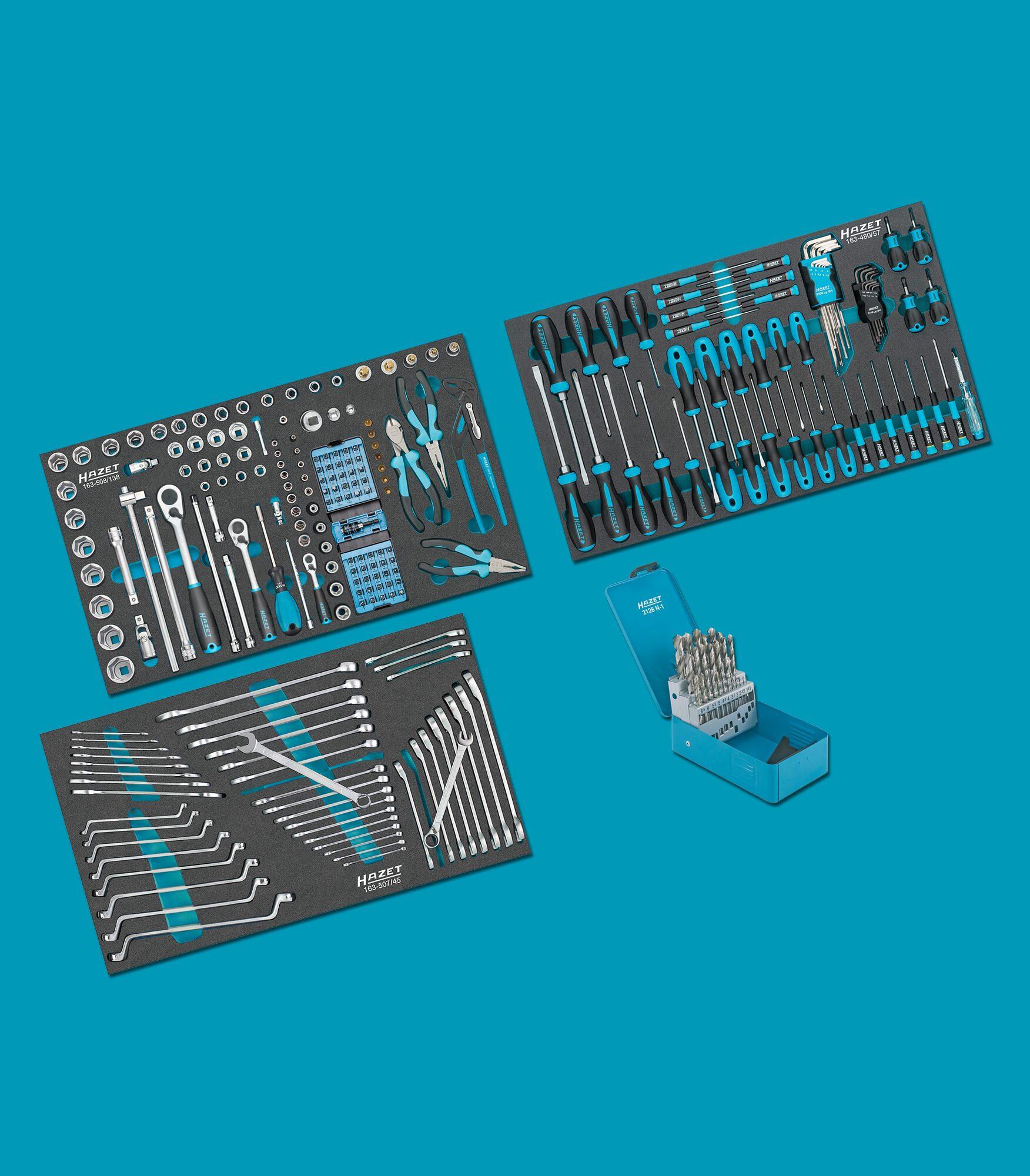 HAZET Werkzeug Sortiment 0-179NXL/265 ∙ Anzahl Werkzeuge: 265