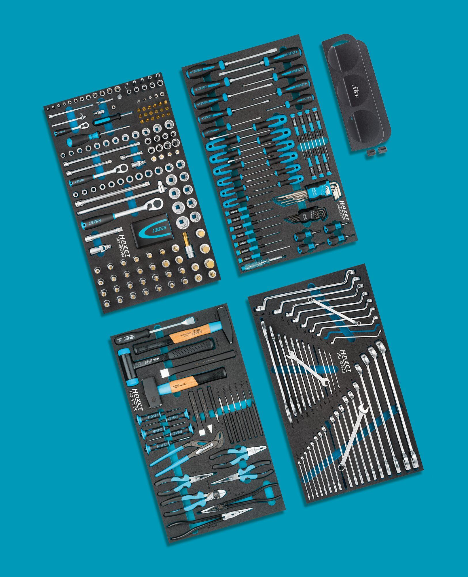 HAZET Werkzeug Sortiment 0-179XL/317 ∙ Anzahl Werkzeuge: 317