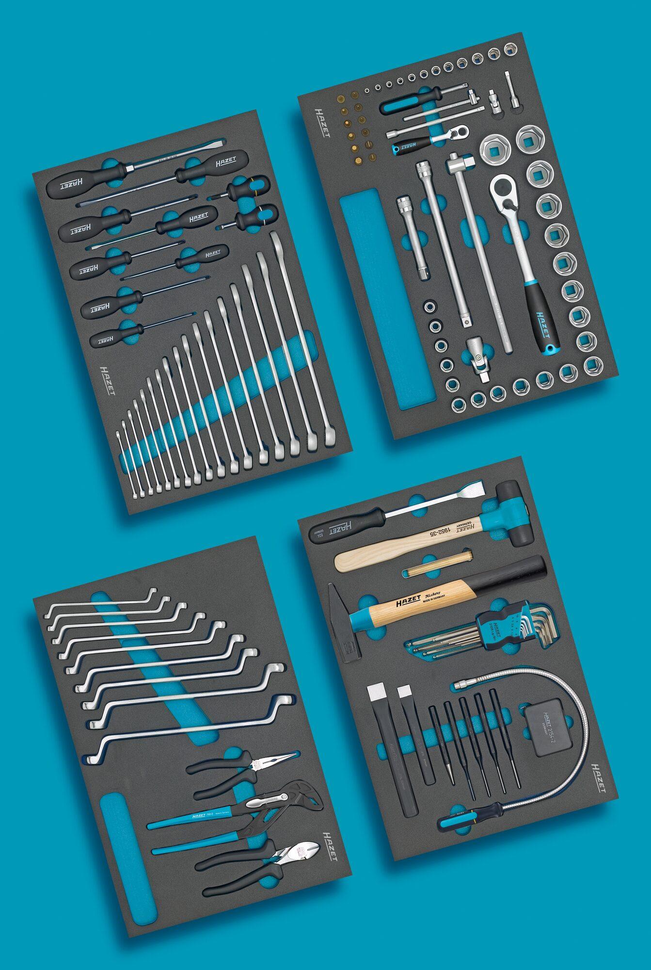 HAZET Werkzeug Sortiment 0-7/117 ∙ Anzahl Werkzeuge: 117