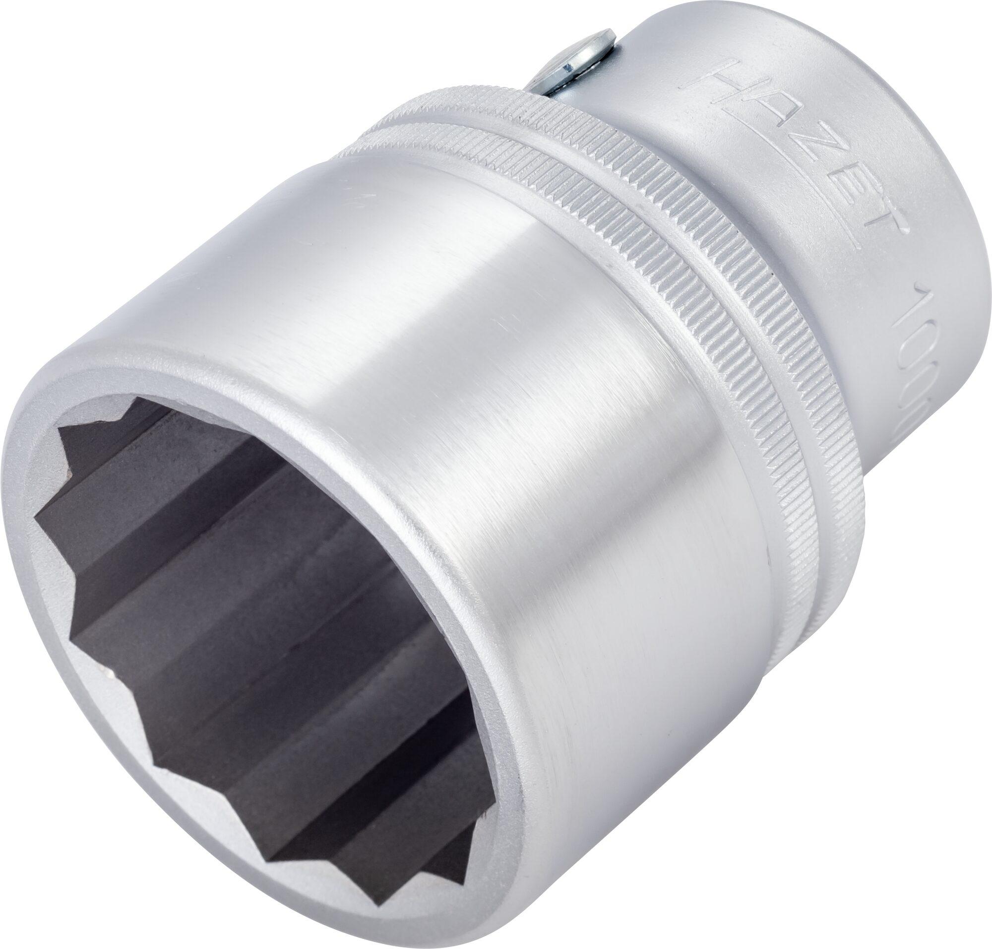 HAZET Steckschlüsseleinsatz ∙ Doppelsechskant 1000AZ-1.1/2 ∙ Vierkant hohl 20 mm (3/4 Zoll) ∙ 1.1⁄2 ″