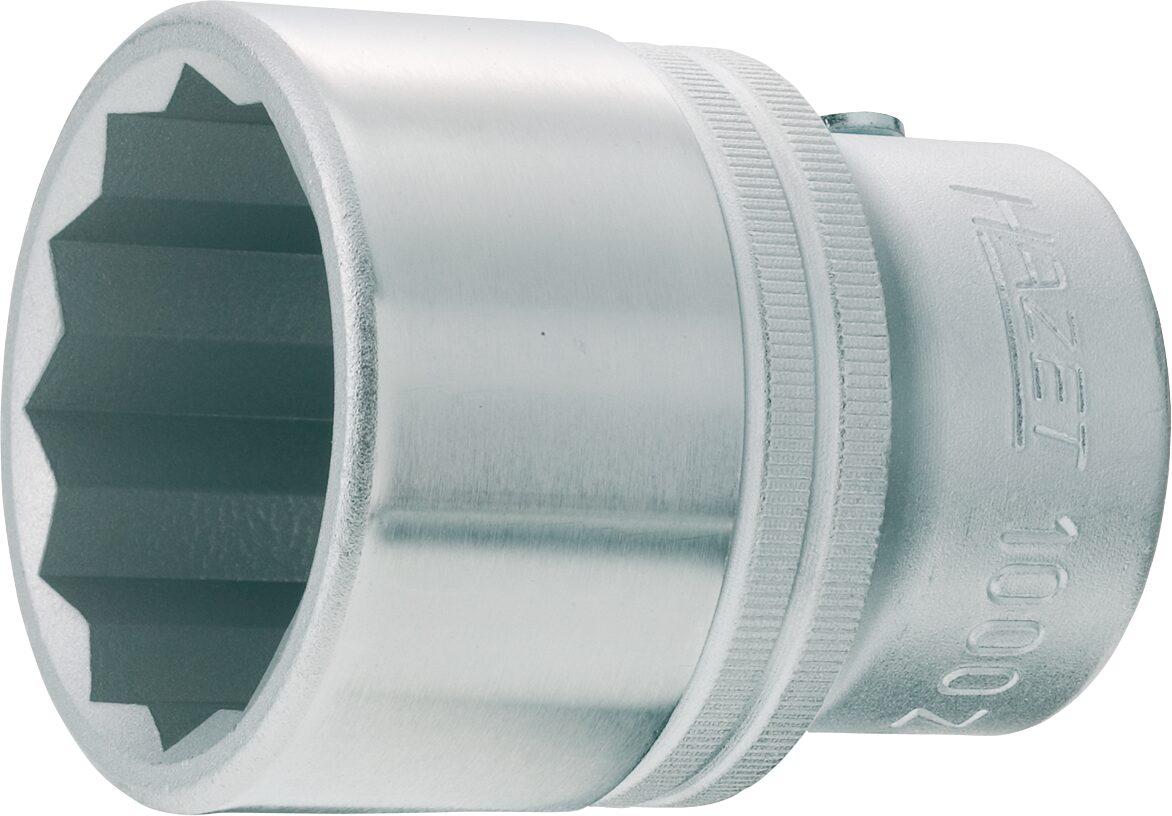 HAZET Steckschlüsseleinsatz ∙ Doppelsechskant 1000AZ-1 ∙ Vierkant hohl 20 mm (3/4 Zoll) ∙ 1 ″