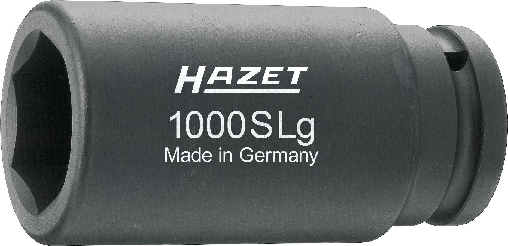HAZET Schlag- ∙ Maschinenschrauber Steckschlüsseleinsatz ∙ Sechskant 1000SLG-36 ∙ Vierkant hohl 20 mm (3/4 Zoll)