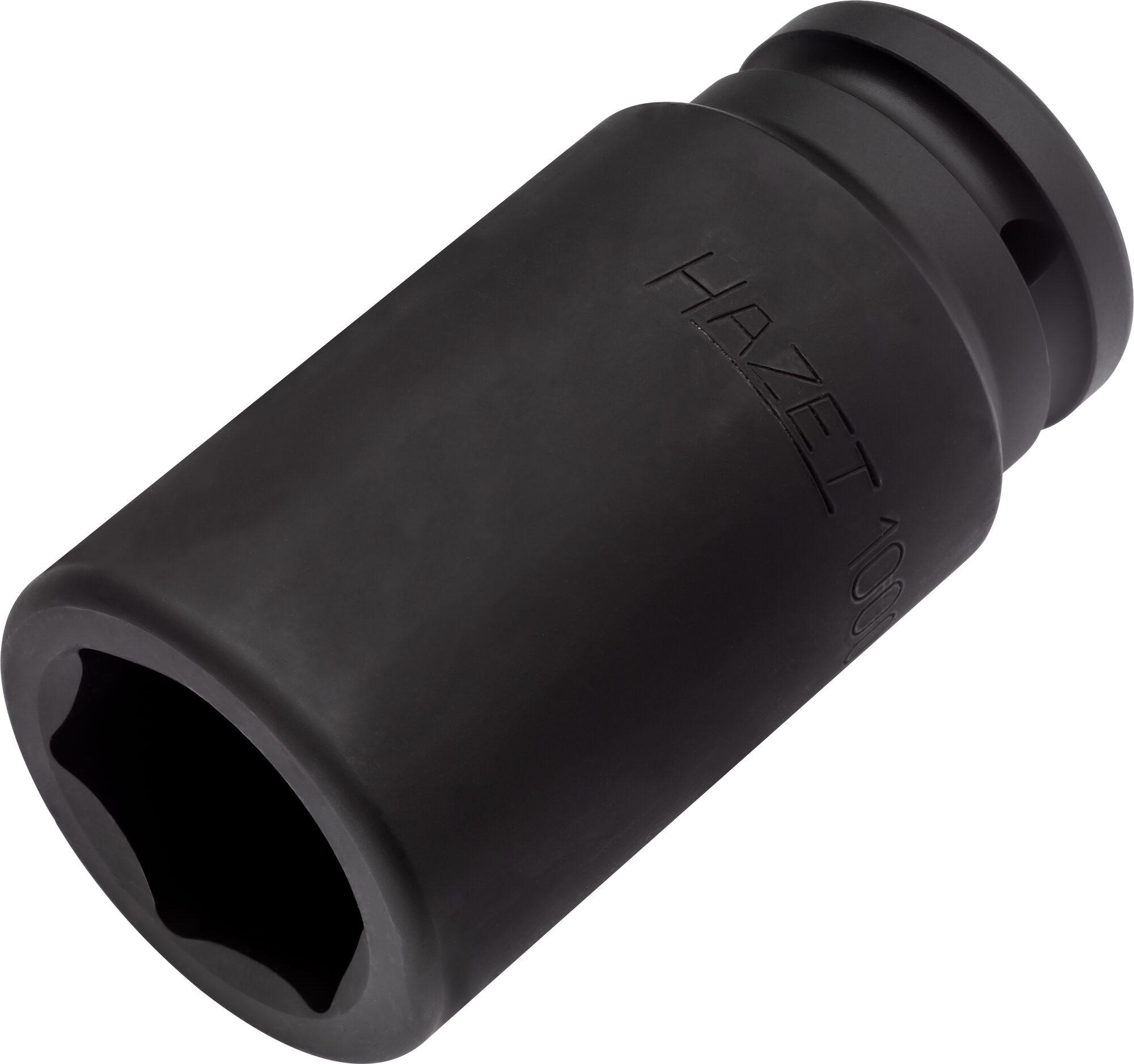 HAZET Schlag- ∙ Maschinenschrauber Steckschlüsseleinsatz ∙ Sechskant 1000SLG-33 ∙ Vierkant hohl 20 mm (3/4 Zoll)
