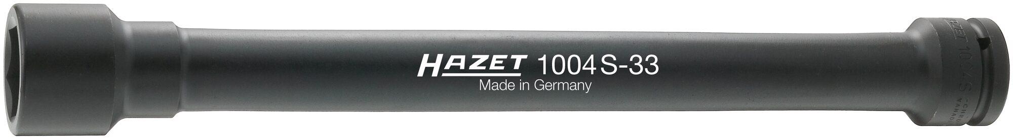 HAZET Schlag- ∙ Maschinenschrauber Steckschlüsseleinsatz ∙ Sechskant 1004S-33 ∙ Vierkant hohl 20 mm (3/4 Zoll) ∙ 33 mm
