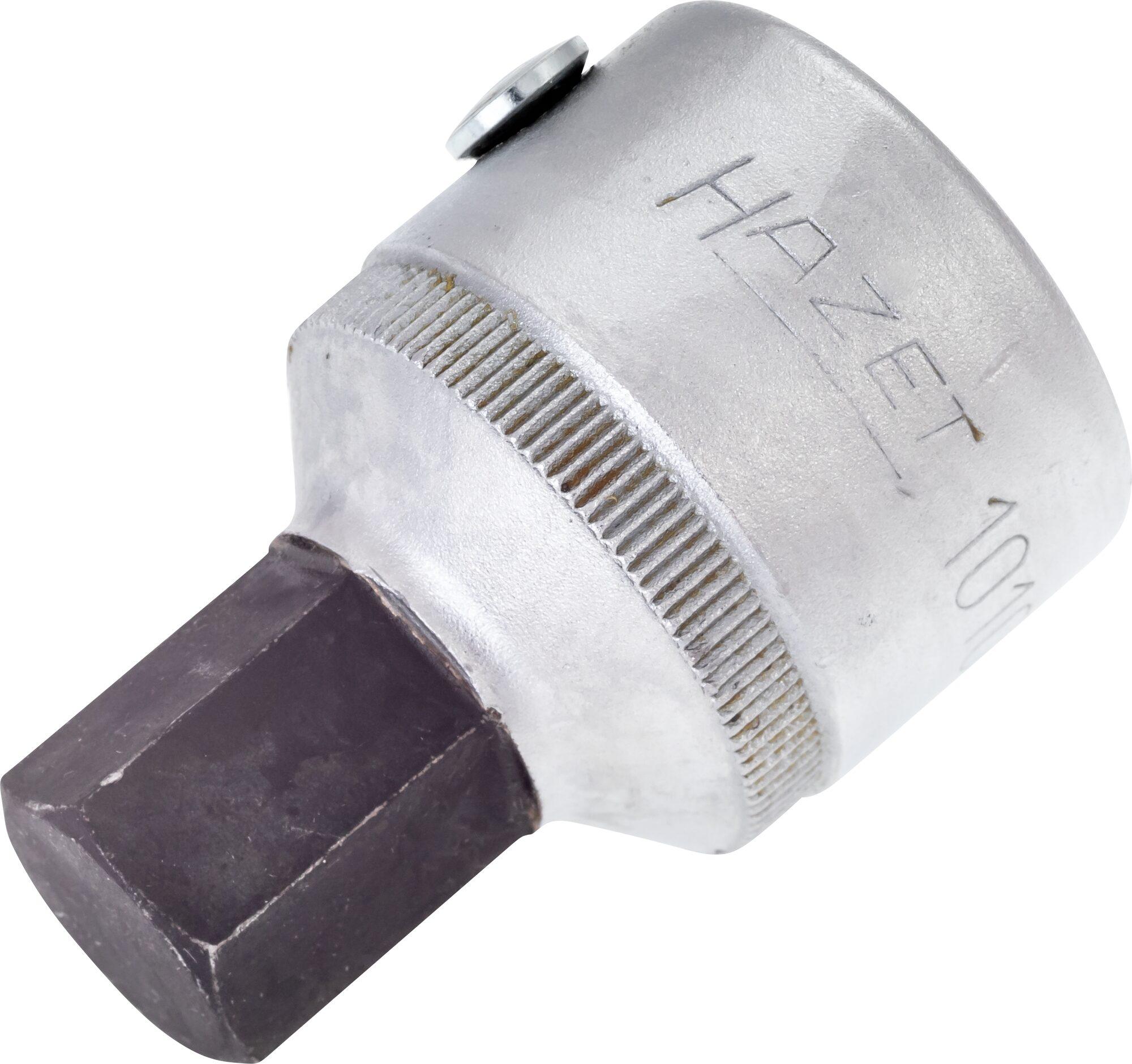 HAZET Schraubendreher-Steckschlüsseleinsatz 1010-17 ∙ Vierkant hohl 20 mm (3/4 Zoll) ∙ Innen-Sechskant Profil ∙ 17 mm