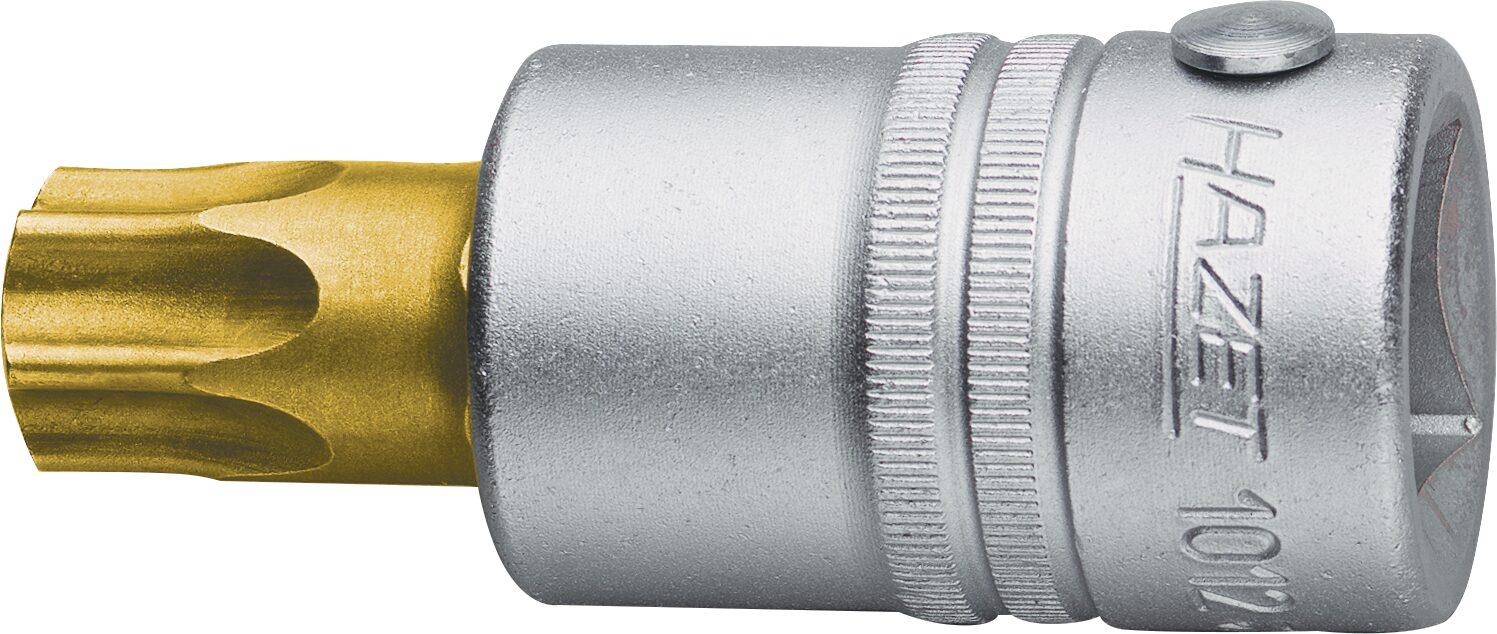 HAZET Schraubendreher-Steckschlüsseleinsatz TORX® 1012-T70 ∙ Vierkant hohl 20 mm (3/4 Zoll) ∙ Innen TORX® Profil ∙ T70