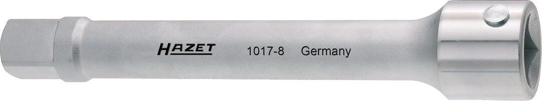 HAZET Verlängerung 1017-8 ∙ Vierkant hohl 20 mm (3/4 Zoll) ∙ Vierkant massiv 20 mm (3/4 Zoll)