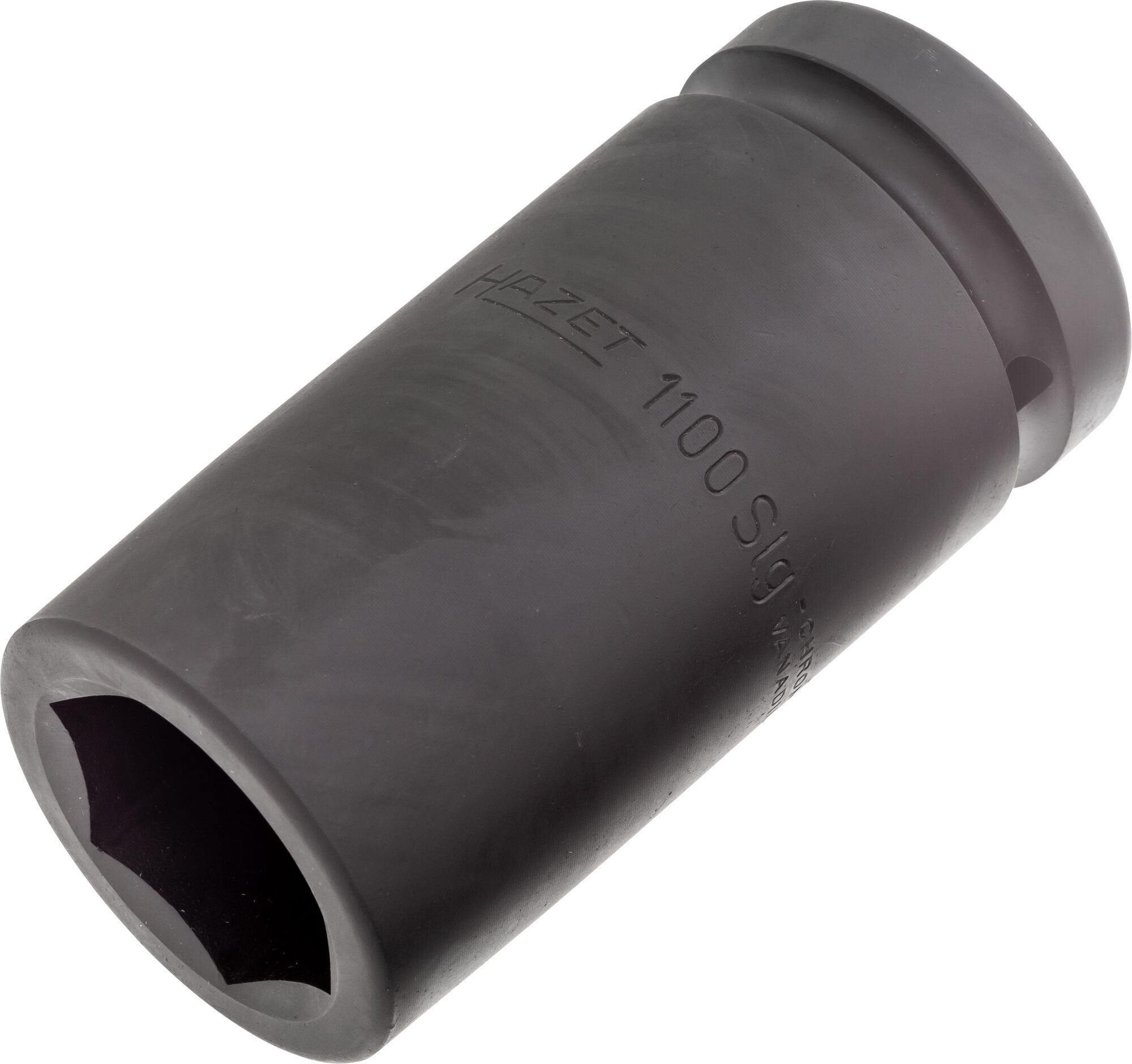 HAZET Schlag-, Maschinenschrauber Steckschlüsseleinsatz ∙ Sechskant 1100SLG-33 ∙ Vierkant hohl 25 mm (1 Zoll) ∙ 33 mm