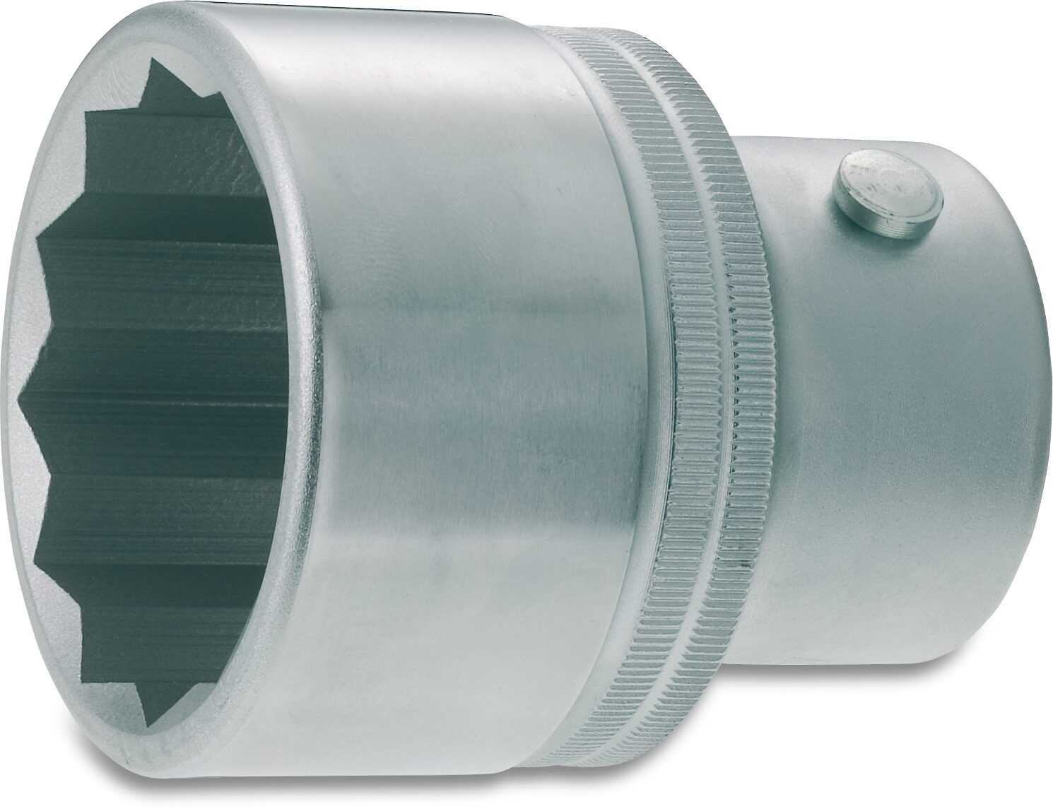 HAZET Steckschlüsseleinsatz ∙ Doppelsechskant 1100Z-41 ∙ Vierkant hohl 25 mm (1 Zoll) ∙ Außen-Doppel-Sechskant Profil
