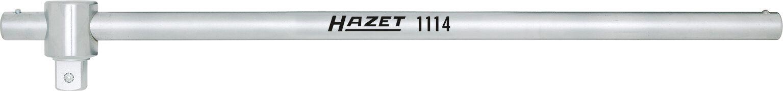 HAZET Schiebestück ∙ mit Drehstange 1115/2 ∙ Vierkant massiv 25 mm (1 Zoll) ∙ Anzahl Werkzeuge: 2