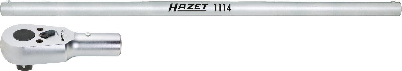 HAZET Umschalt-Knarrenkopf ∙ mit Drehstange 1116/2 ∙ Vierkant massiv 25 mm (1 Zoll) ∙ Anzahl Werkzeuge: 2