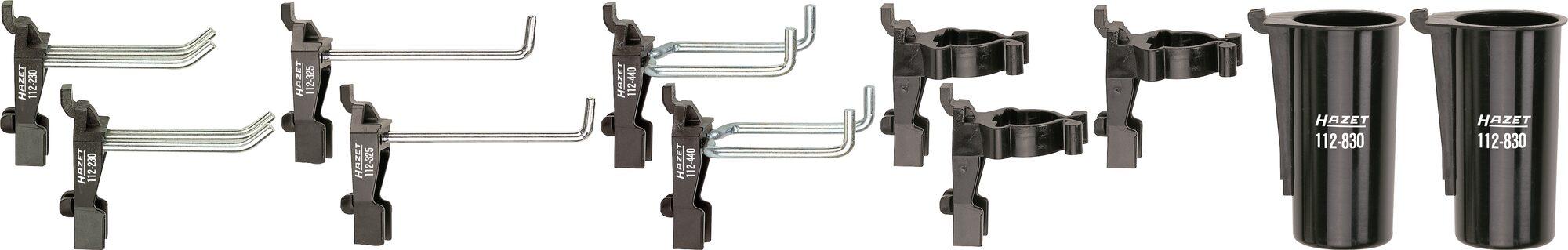 HAZET Werkzeug Halter 112/11 ∙ Anzahl Werkzeuge: 11