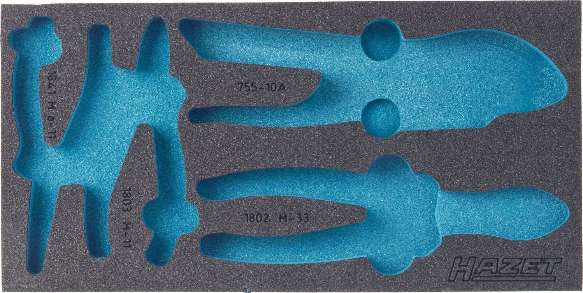 HAZET 2-Komponenten Weichschaum-Einlage 163-121L
