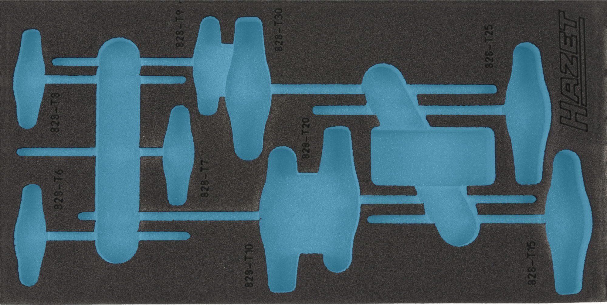 HAZET 2-Komponenten Weichschaum-Einlage 163-182L