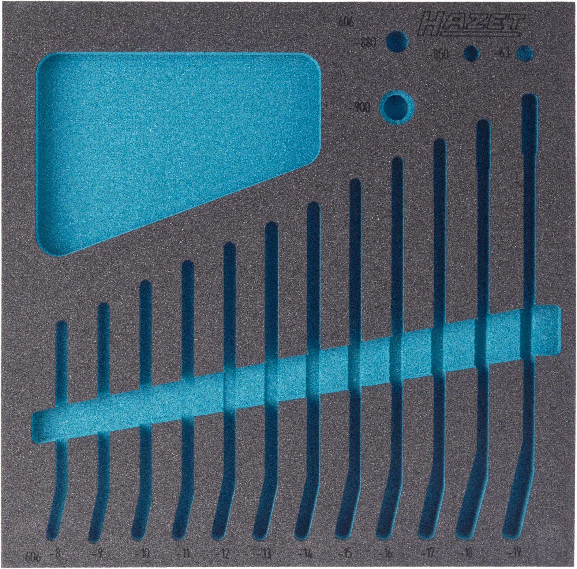HAZET 2-Komponenten Weichschaum-Einlage 163-186L