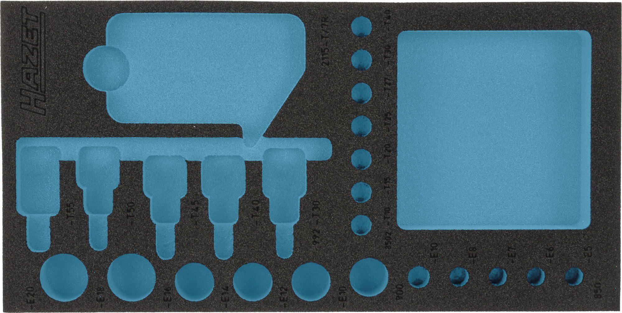 HAZET 2-Komponenten Weichschaum-Einlage 163-192L