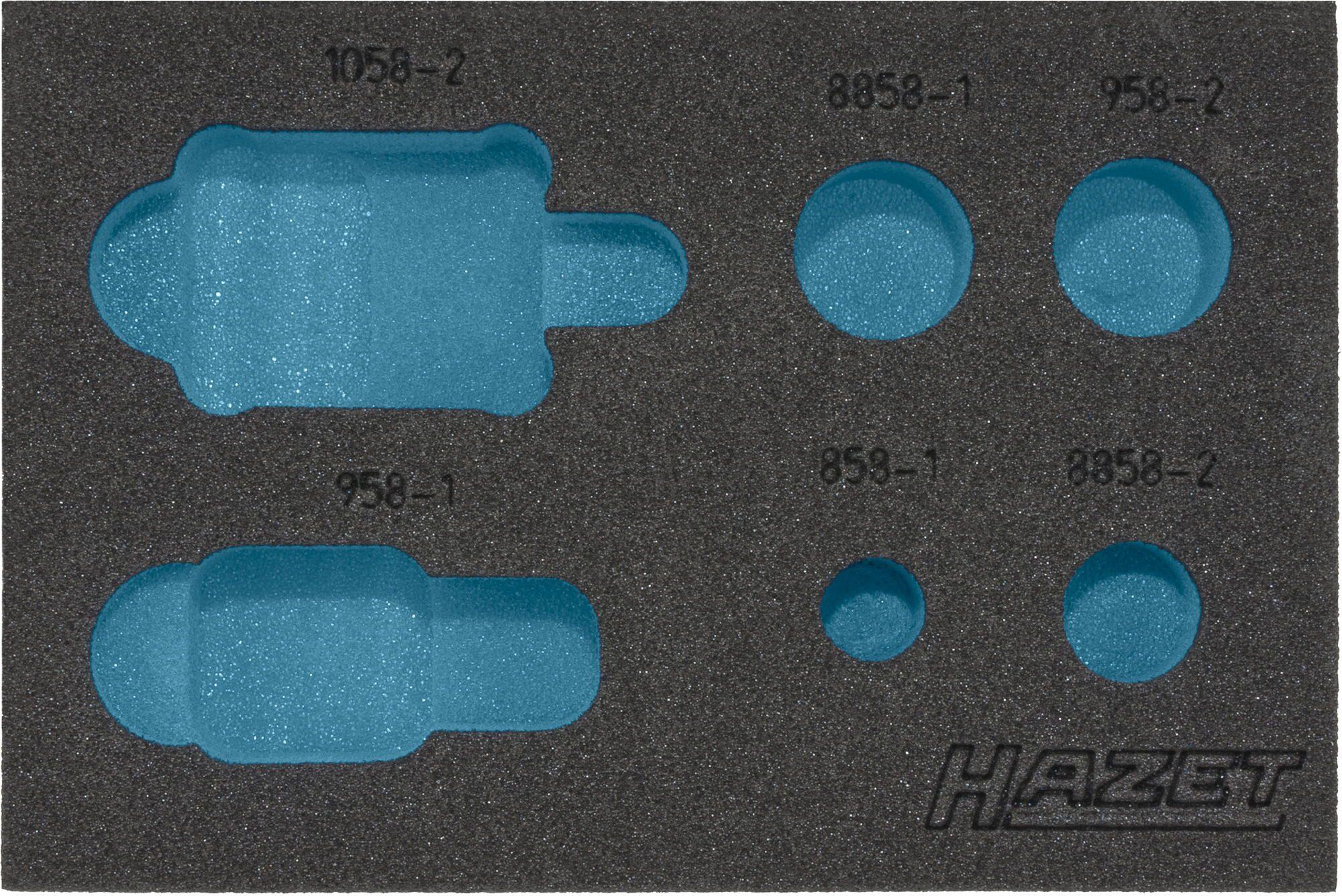 HAZET 2-Komponenten Weichschaum-Einlage 163-217L