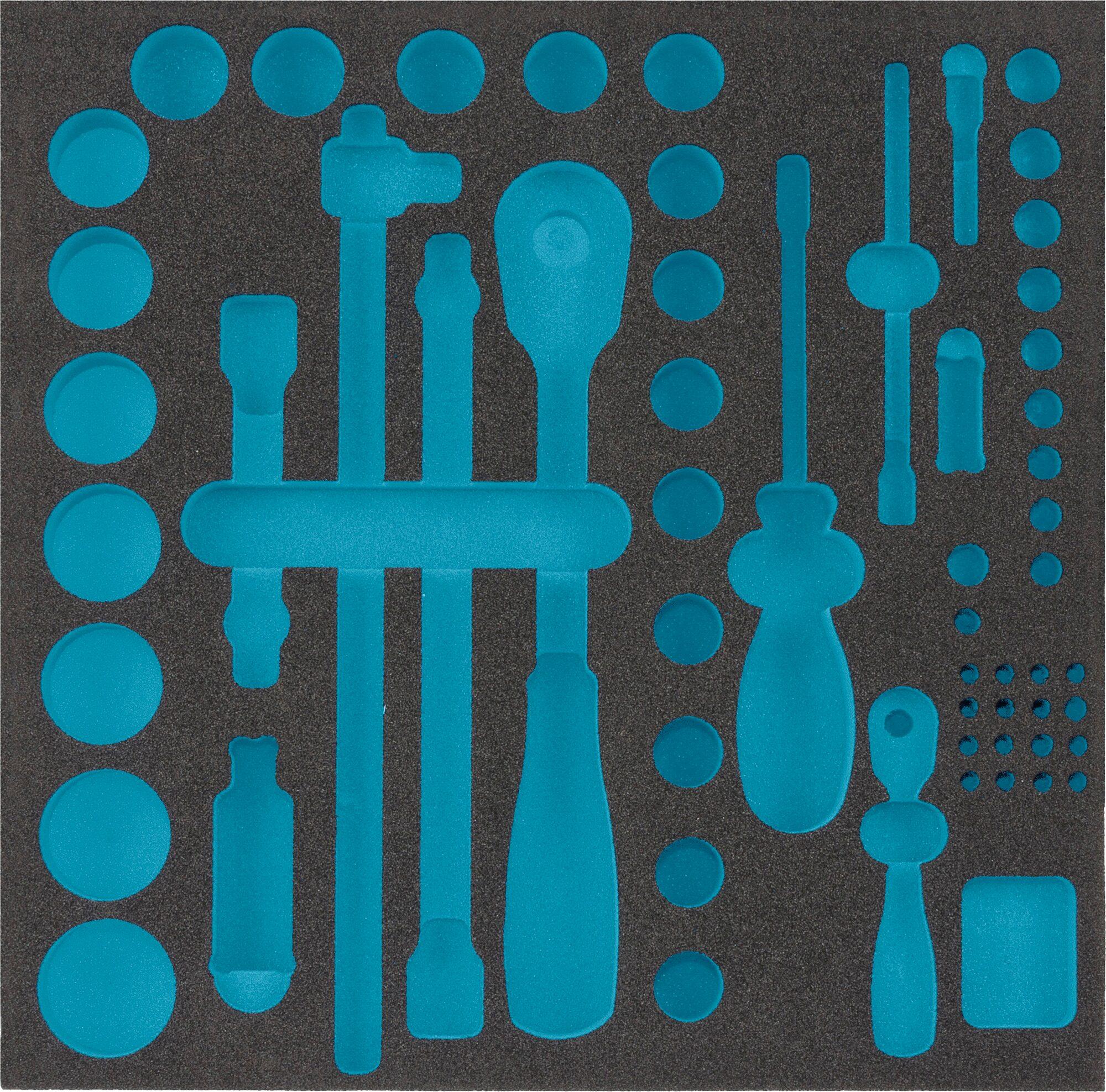 HAZET 2-Komponenten Weichschaum-Einlage 163-224L
