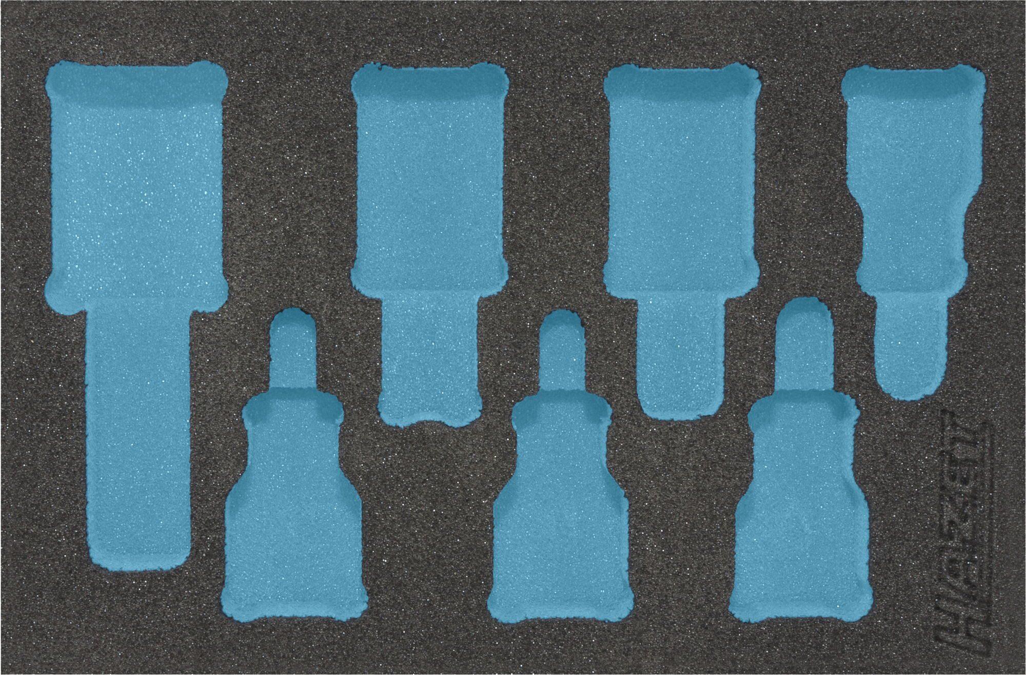 HAZET 2-Komponenten Weichschaum-Einlage 163-243L