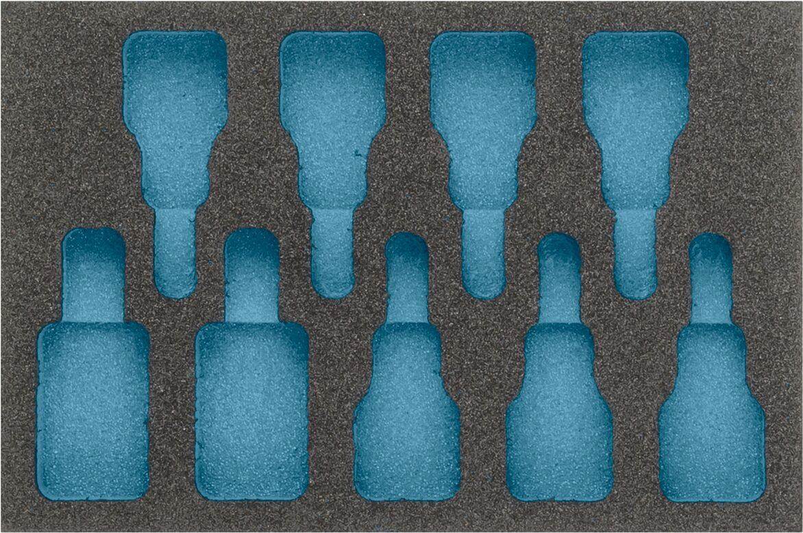 HAZET 2-Komponenten Weichschaum-Einlage 163-271L