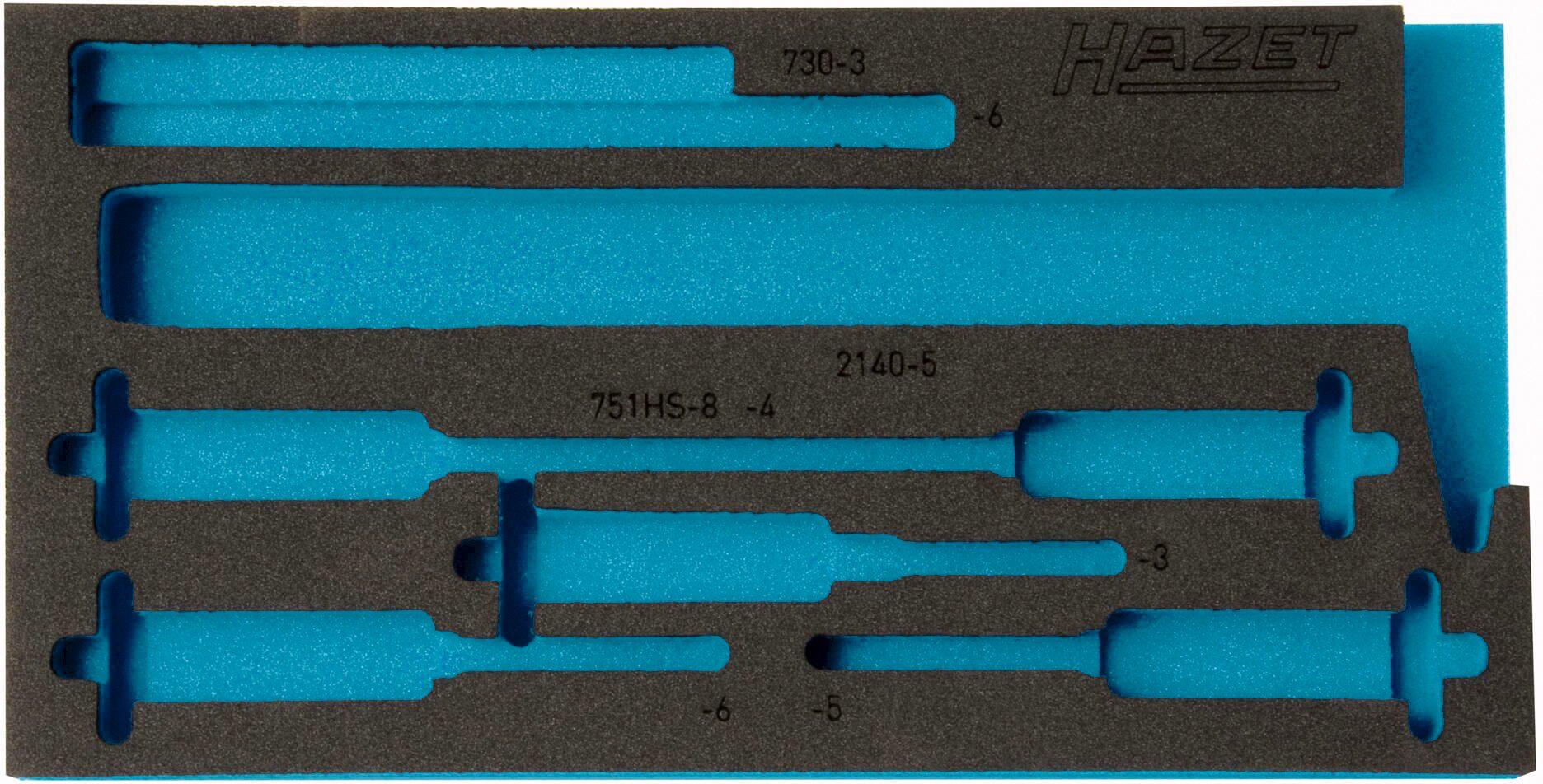 HAZET 2-Komponenten Weichschaum-Einlage 163-299L