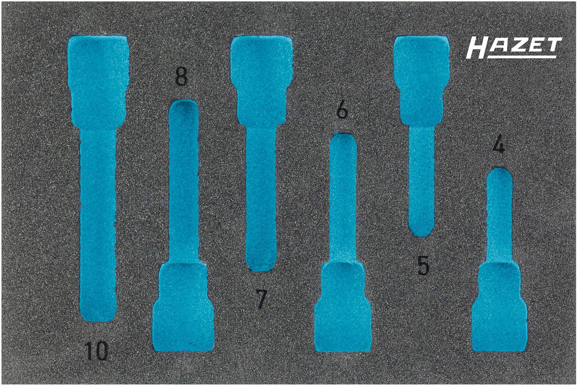 HAZET 2-Komponenten Weichschaum-Einlage 163-302L