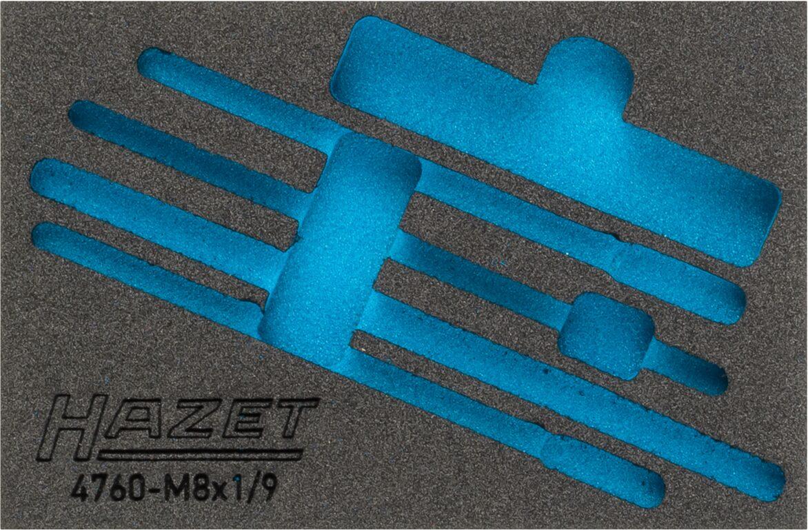 HAZET 2-Komponenten Weichschaum-Einlage 163-321L