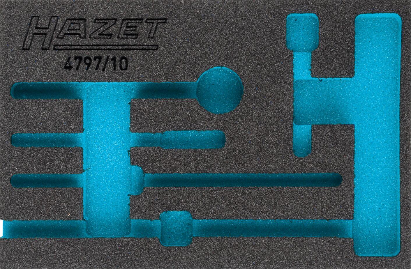 HAZET 2-Komponenten Weichschaum-Einlage 163-326L