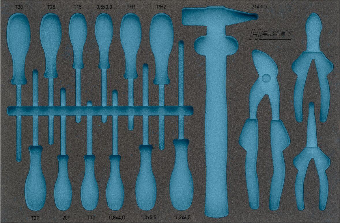 HAZET 2-Komponenten Weichschaum-Einlage 163-330L
