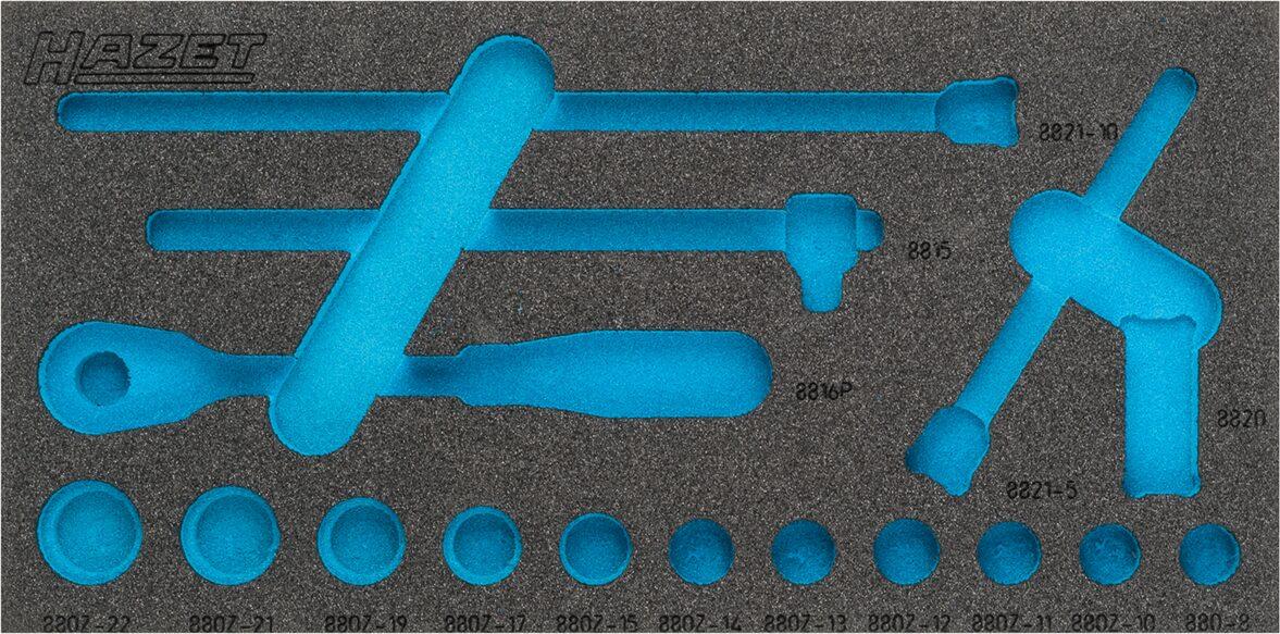 HAZET 2-Komponenten Weichschaum-Einlage 163-335L