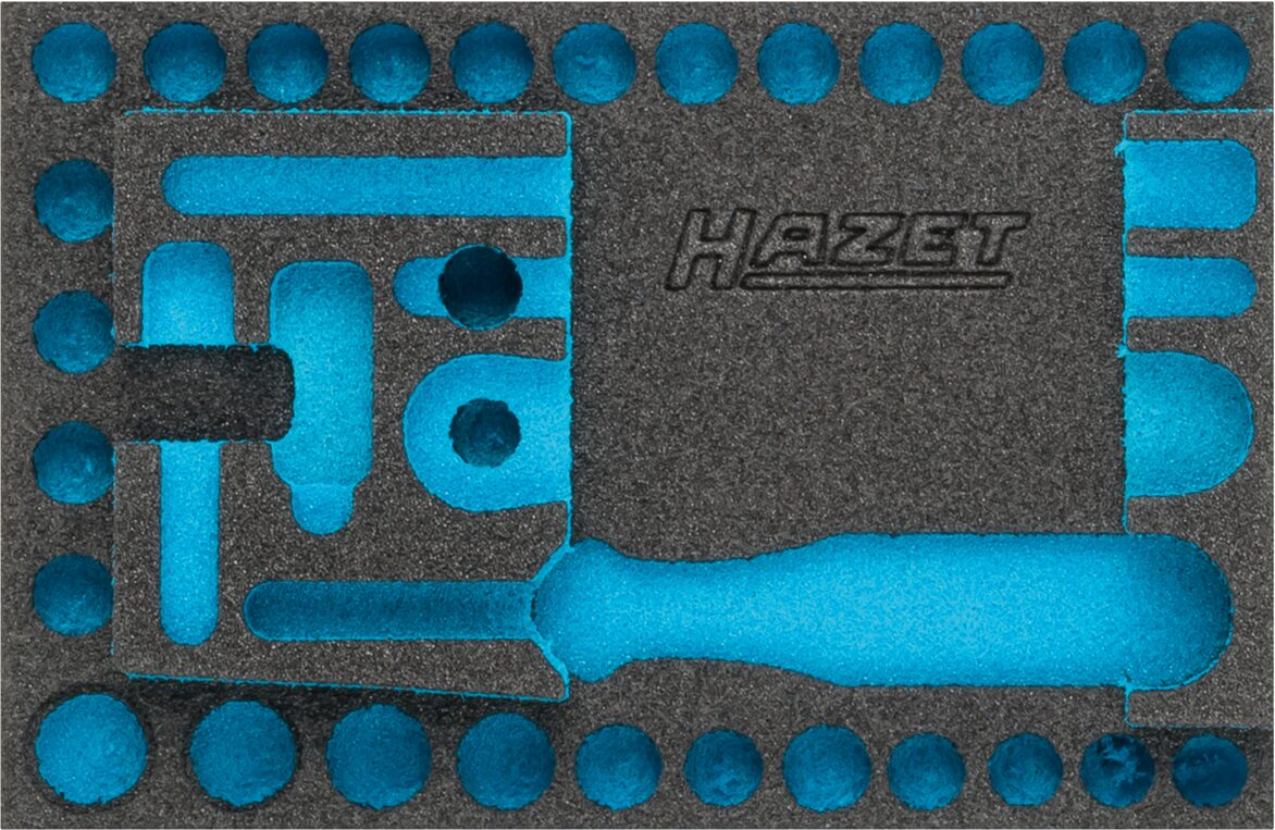 HAZET 2-Komponenten Weichschaum-Einlage 163-338L