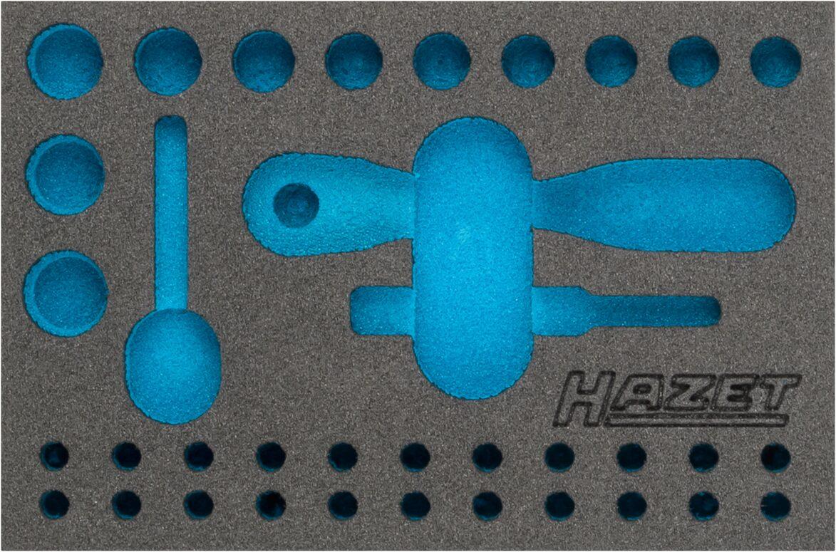 HAZET 2-Komponenten Weichschaum-Einlage 163-341L