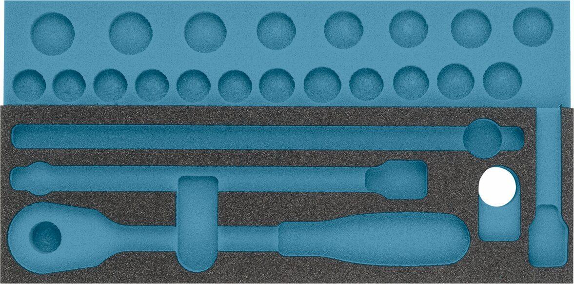 HAZET 2-Komponenten Weichschaum-Einlage 163-342L