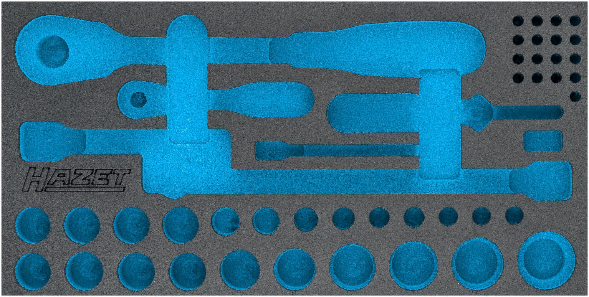 HAZET 2-Komponenten Weichschaum-Einlage 163-355L